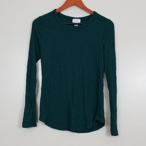 Old Navy long sleeve ribbed shirt